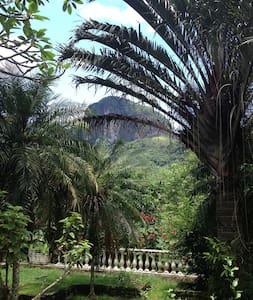 Paraiso na mata atlantica - Cachoeiras de Macacu - Haus