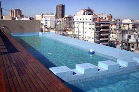 1 Bedroom Modern w/Balcony, Pool