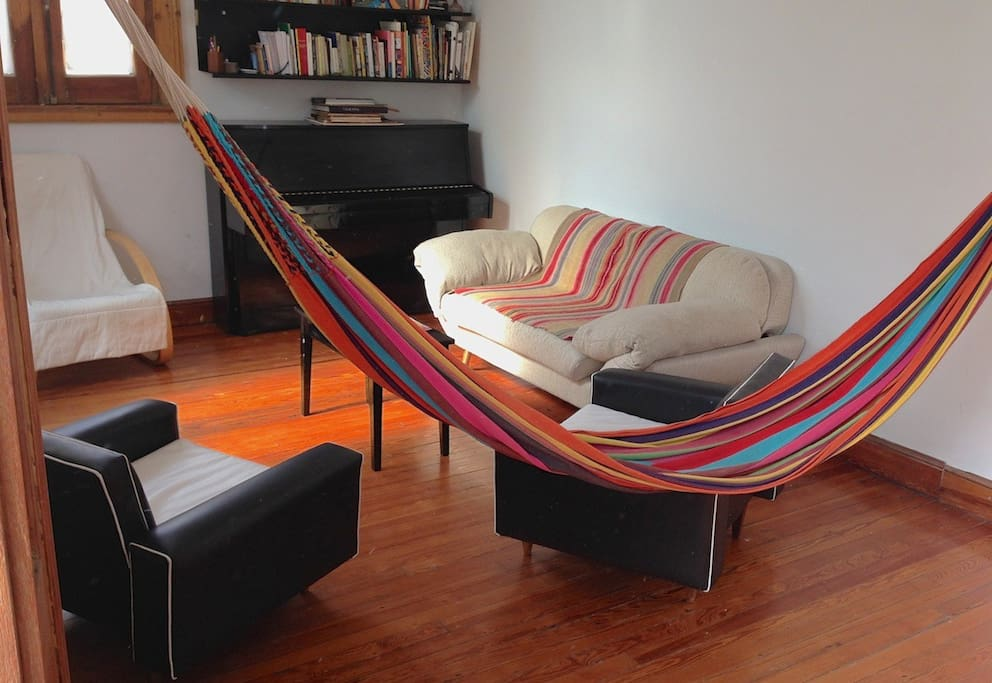 Living room : hammock