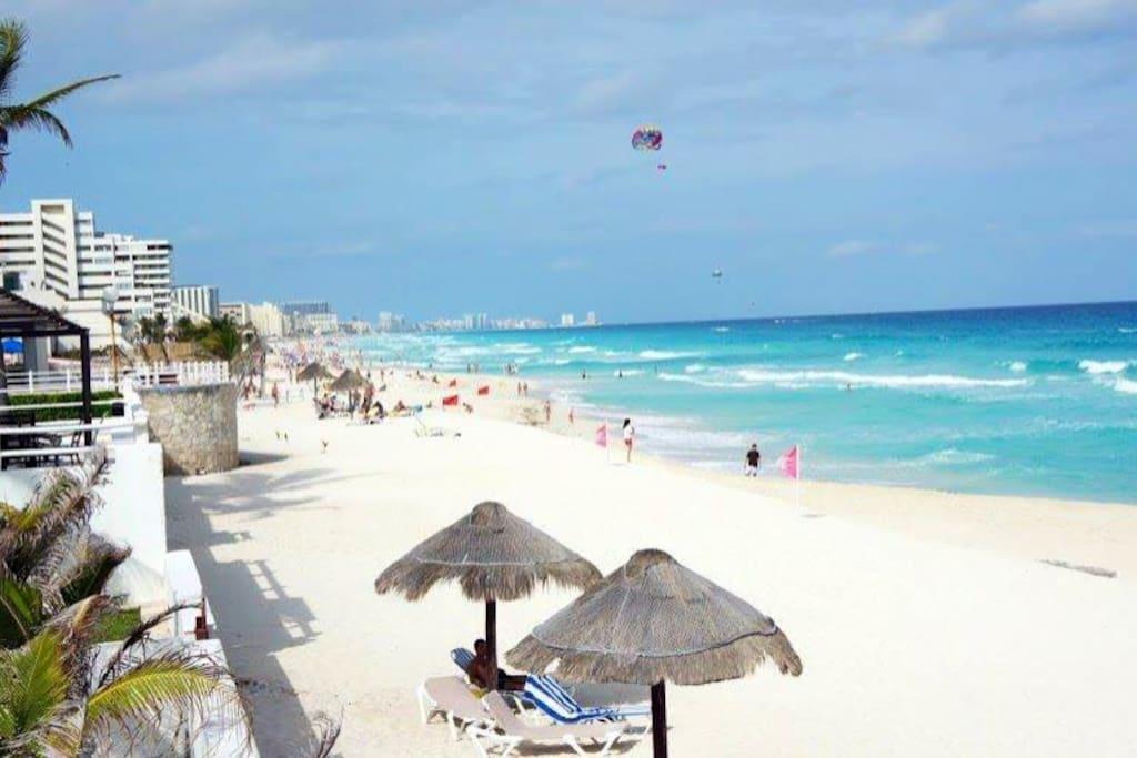 la mejor playa ! mejor zona de hoteles