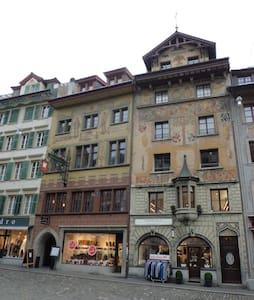 Altstadt Hotel Krone Apartments Weinmarkt Luzern - Apartment