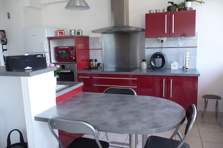 Charming and cosy  very bright flat - Le Pont-de-Beauvoisin - Wohnung