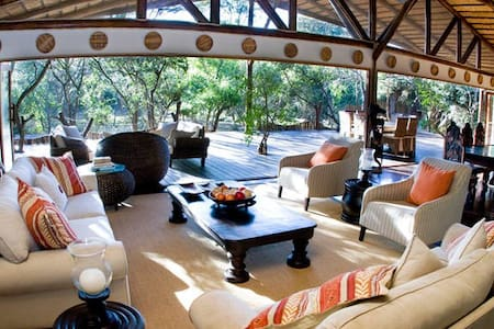 Luxury Bush Villa..Gameview in Bed! - Hluhluwe  - House
