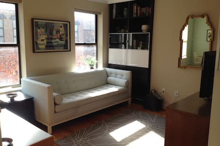 This is a completely private 1 bedroom apartment fully stocked with everything you need.  This is ideal for 1 or 2 people, however if you are on a budget there is an air mattress that can also sleep 2 as well in the living room.
