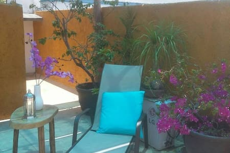Apt 5 Casa Tranquila 5 min walk to sea & downtown - Cozumel