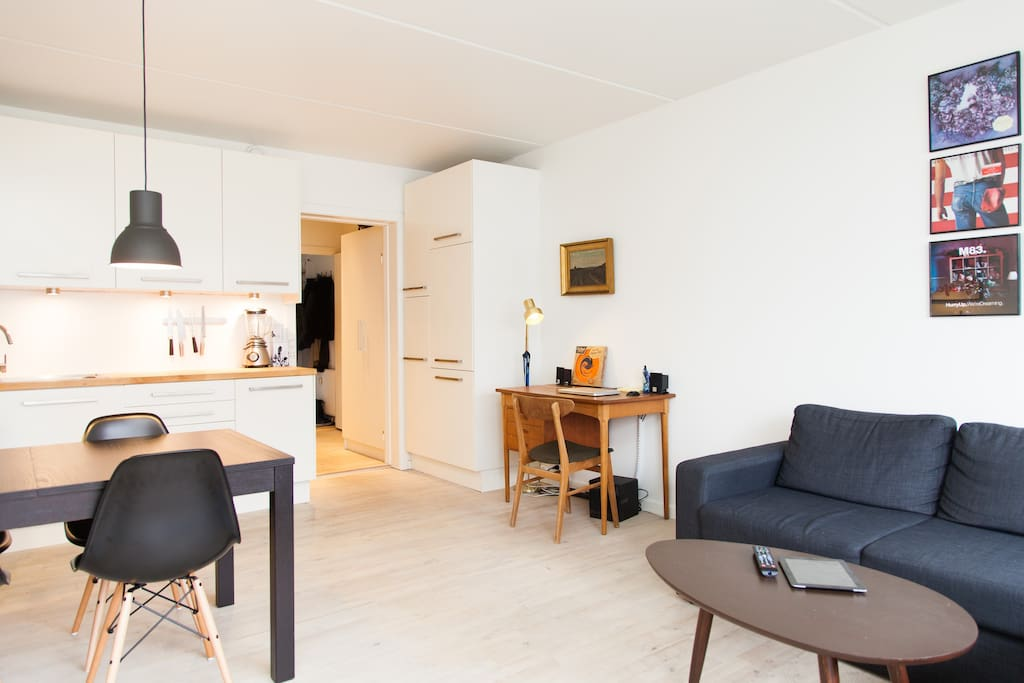 2 room apartment with balcony