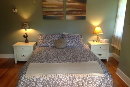 Sage Room -  Queen Bed. - House