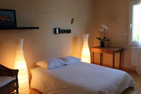 Chambre dans belle maison contemporaine Flagey - Daire