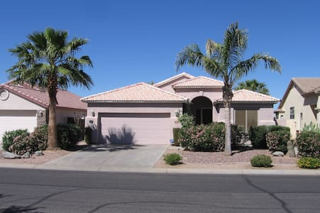 Fabulous Golf Course Home San Tan Valley - Bungaló
