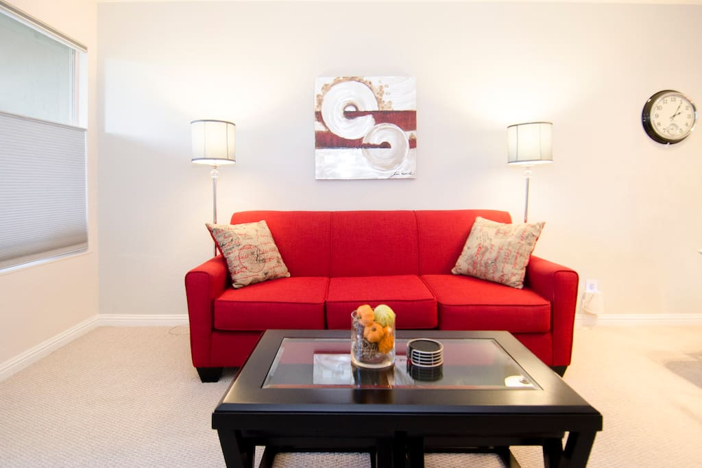 Newly furnished 2 bedroom condo