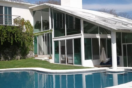 Casa de campo con alberca dentro club de golf - Xochitepec - Maison