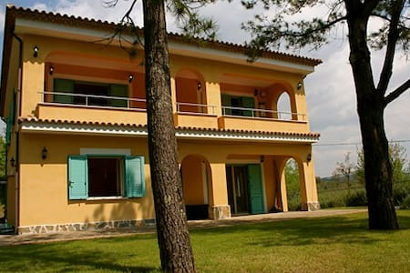 Accogliente villa vicino Palinuro - Haus