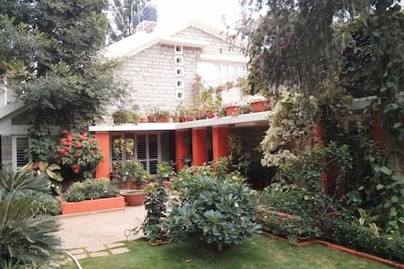 1) Outer Room in Dream Garden Villa - Bangalore - Villa