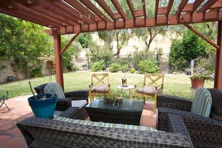 位于奇诺岗的阳光充沛的家庭友好型公寓 - Chino Hills - Villa