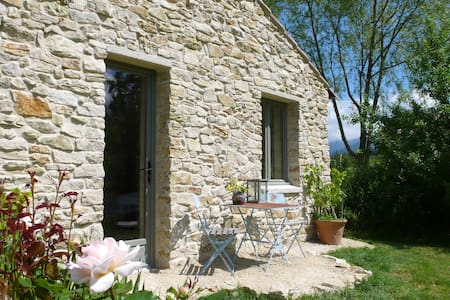 Chambre d'hotes,Drôme Provence,B&B. entrée privée. - Vesc