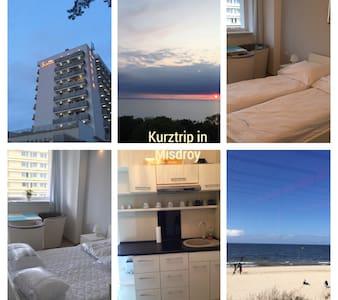Tolle Wohnung direkt am Strand - Międzyzdroje - Appartement
