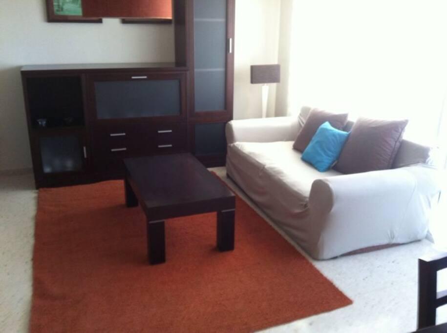 confortable y espacioso salon