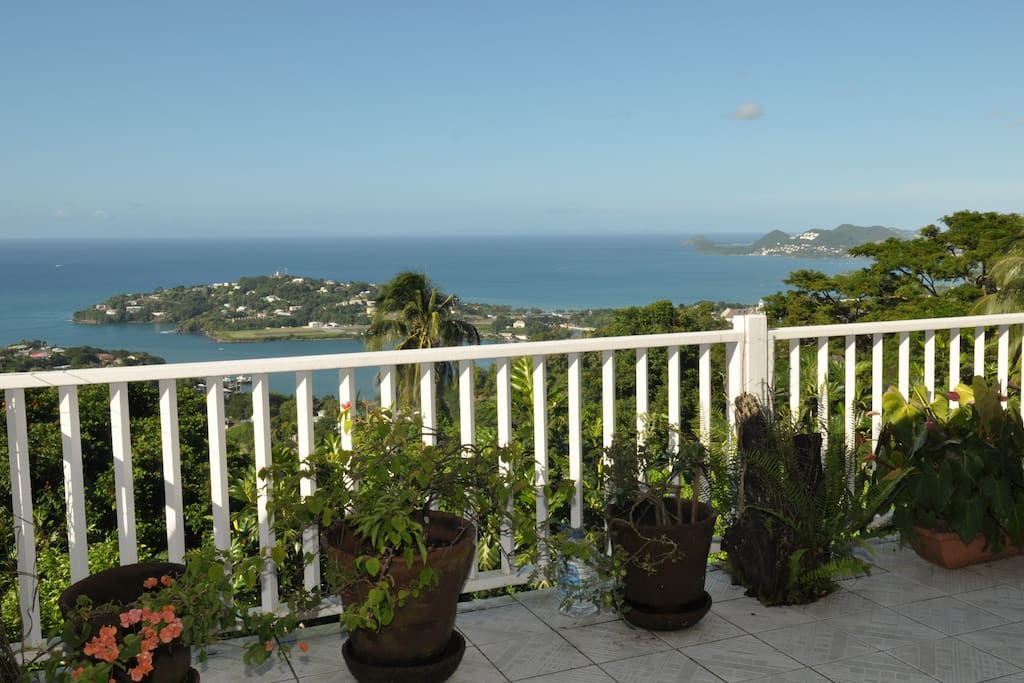 One of the views from Morne Seaview Apt#1