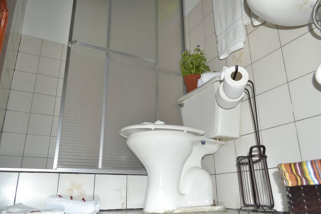 Baño privado en cada habitación