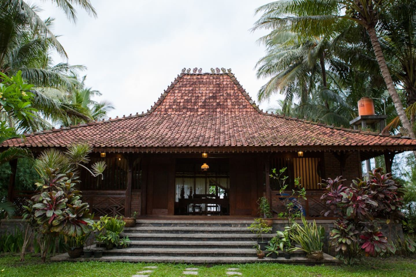 Welcome to the traditional Javanese Joglo house