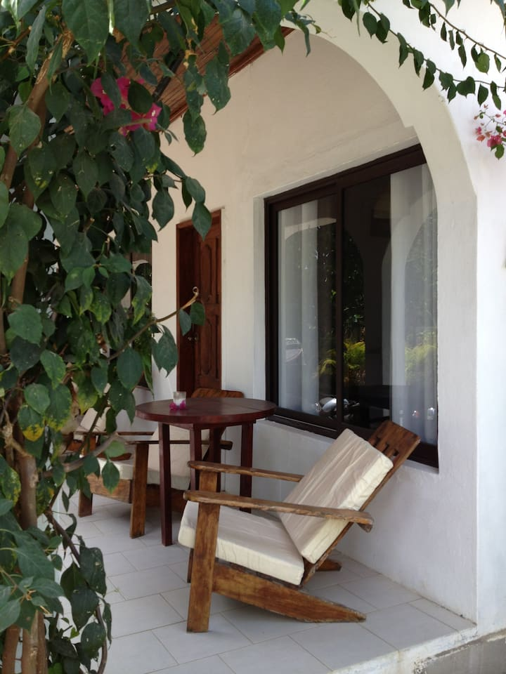 Verandah with Garden View and Separate Entrance