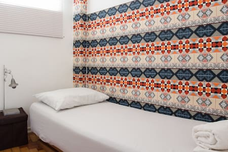 Agradável pequeno quarto em Copacabana - Apartamento