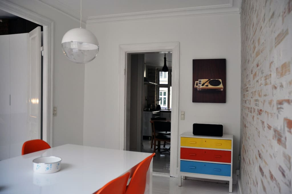 Big apartment in the heart of CPH