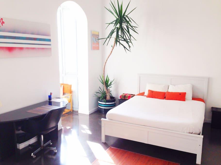 Sunny and Quiet Super Room