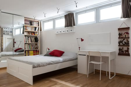Cozy room in charming loft - Mailand