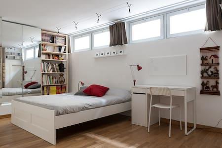 Cozy room in charming loft