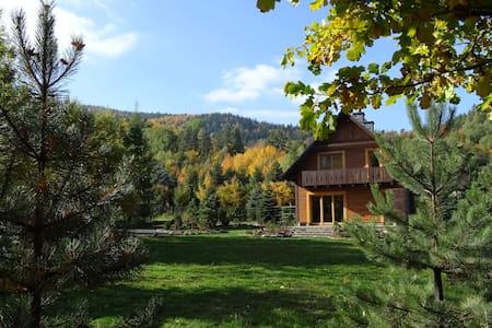 Klimaska - dom nad górskim potokiem