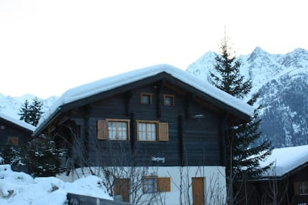 Chalet in der Sonnenregion Wallis - House