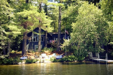 Lakefront Cottage on Lake Kanasatka - Kisház