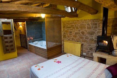 Romantic cottage with jacuzzi - Cogolludo