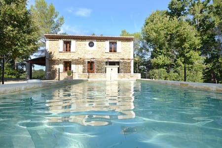 Stone house in picturesque hamlet - Cruviers-Lascours - Casa
