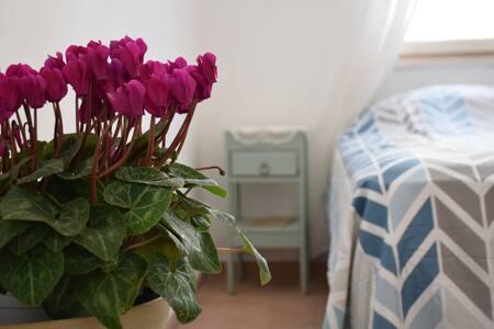 central bright eclectic quiet room - Appartamento