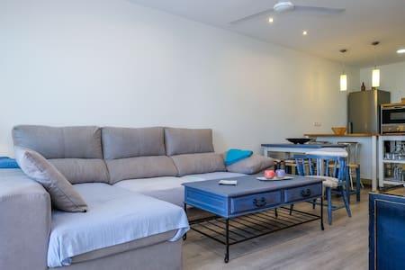 Apartamento en primera línea de playa - Kondominium