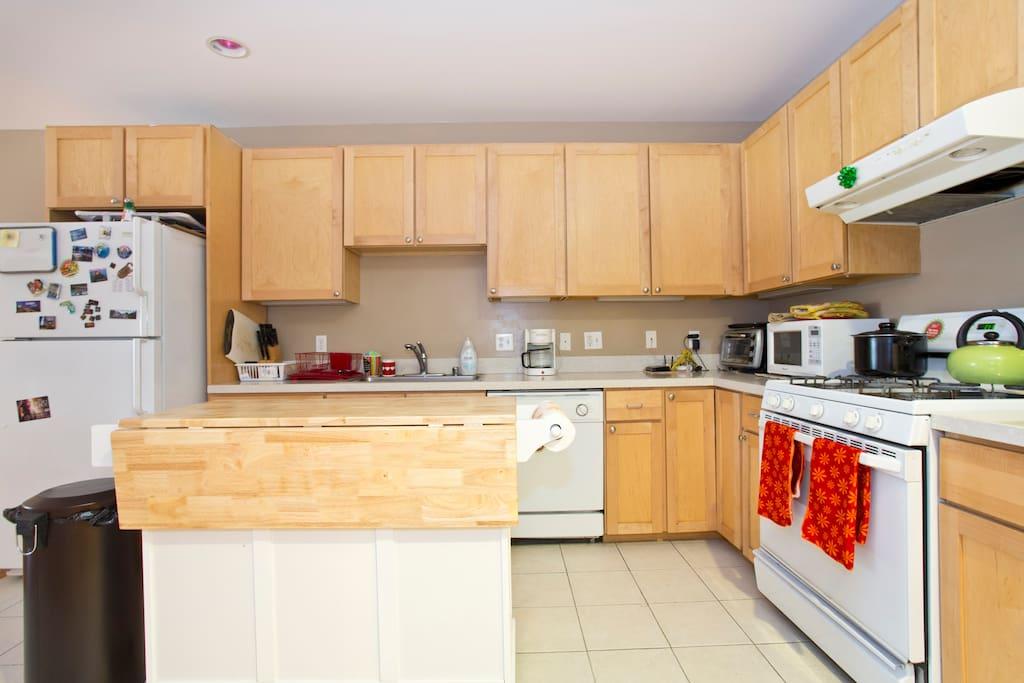 full scale kitchen