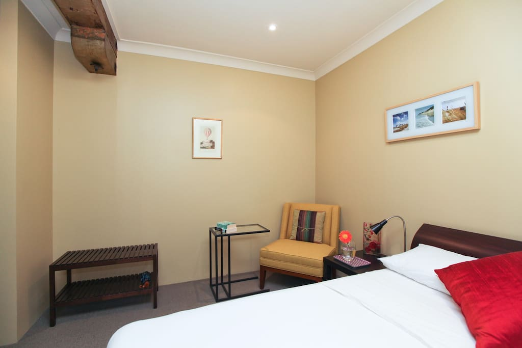 Very comfy second bedroom with double bed and Wi-Fi