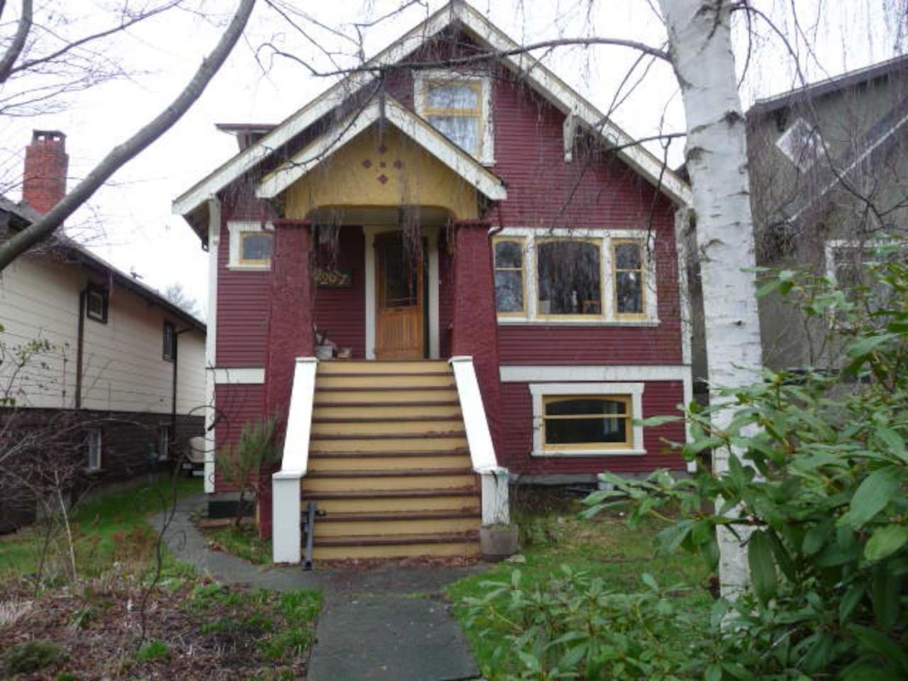 Welcome to our 1929 Heritage home close to major transit, downtown, and Commercial Drive
