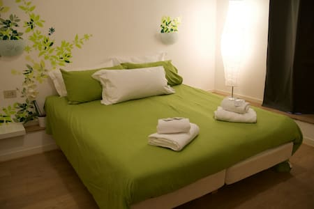 Central room with private bathroom - Apartment