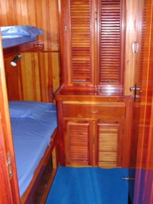 Guletta, cabin;