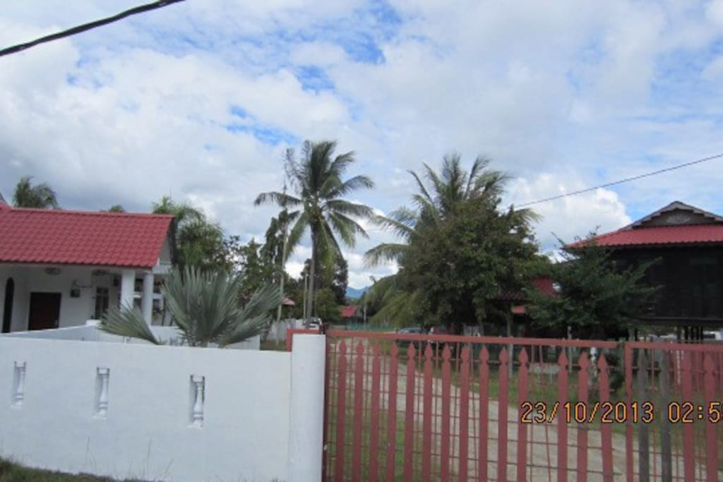 Panoramic view to the House