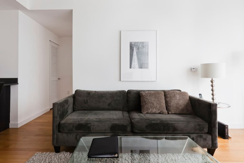 Living room Queen size fold-out Sofabed