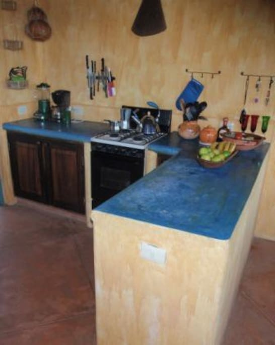 25 m2 Küche/Esszimmer, mit allen praktischen Einrichtungen