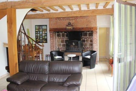 MAISON 3KM MER AU PIED DES CHEMINS DE RANDONNEES - Le Bourg-dun - House