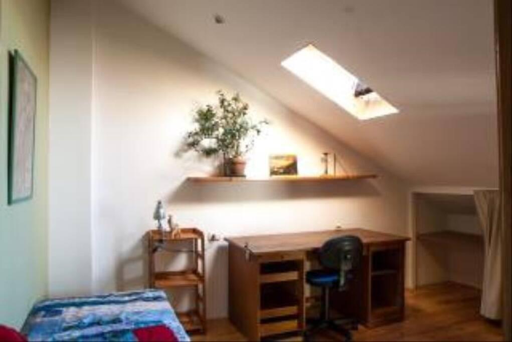 Das andere Zimmer auch mit Doppelmatraze 1,40m