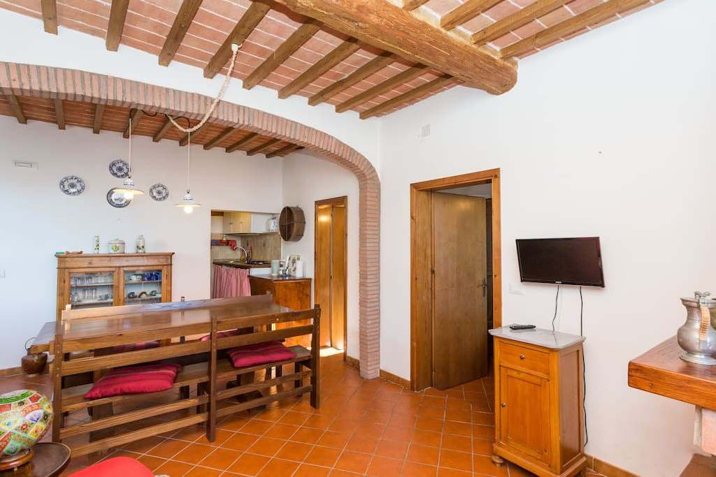 Lovely flat in Panicale village