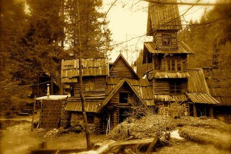 Charming wooden bungalow Zelenkovac - Baraka