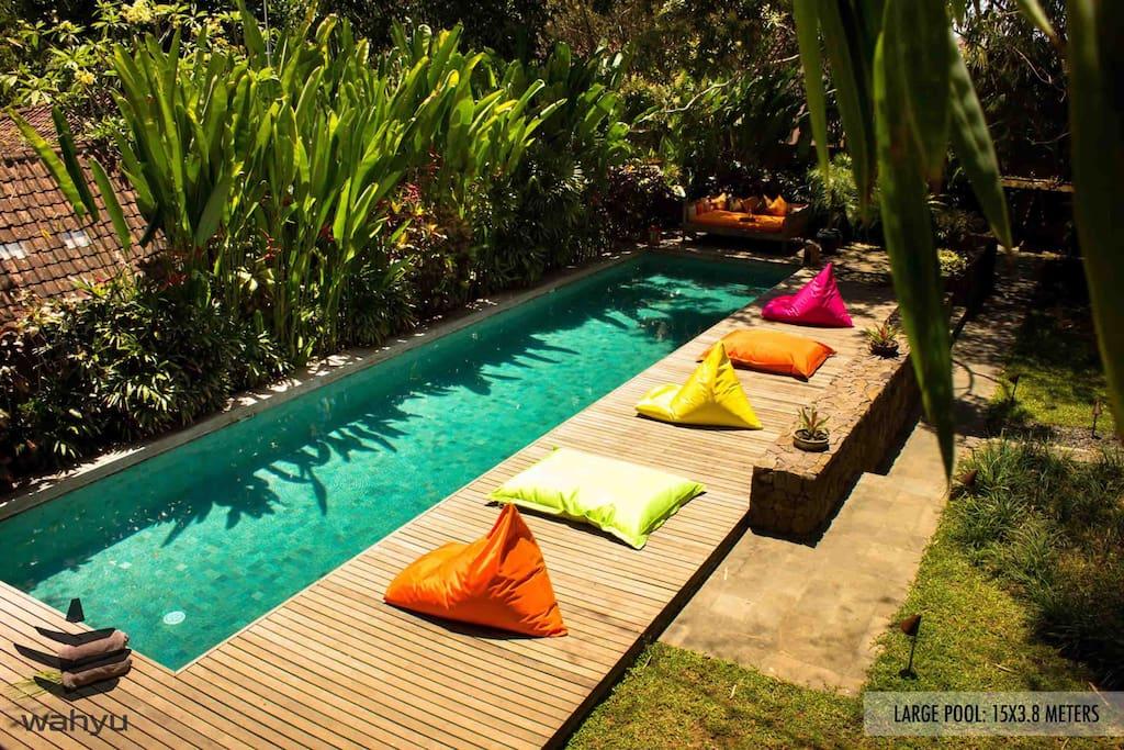 Gorgeous Wahyu Villa Pool Sleep 8